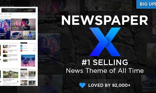 Newspaper - Theme wordpress tin tức số 1 thế giới chỉ 200k