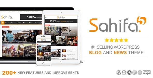 Sahifa - Theme wordpress tin tức