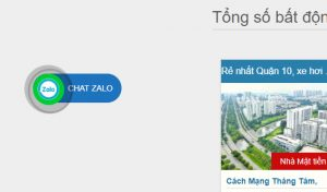 tích hợp plugin chat zalo cho website wordpress