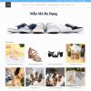Theme wordpress bán hàng giày dép M46