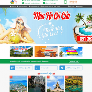 Theme wordpress du lịch M51
