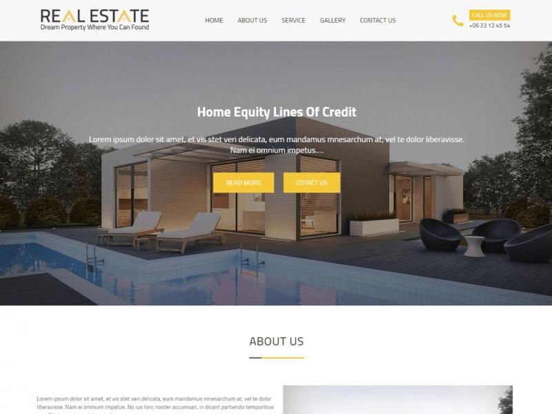 theme bất động sản miễn phí Real Estater