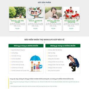 Theme wordpress công ty bảo hiểm