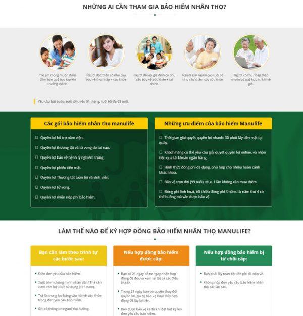Theme wordpress công ty dịch vụ bảo hiểm