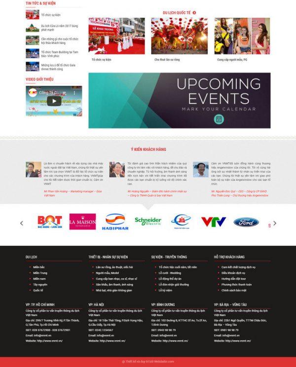 Theme wordpress công ty tổ chức sự kiện truyền thông hình số 4