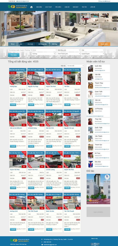 Theme wordpress mua bán nhà đất bất động sản giao diện cực đẹp M101