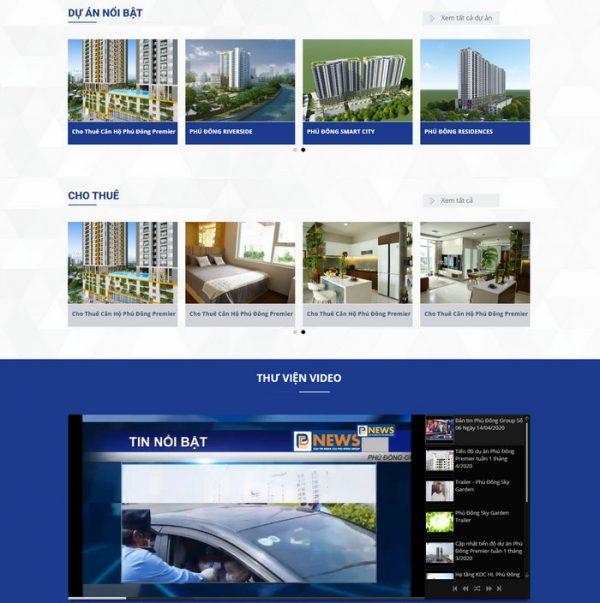 Theme bất động sản dành cho sàn giao dịch hình 2
