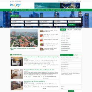 Theme bất động sản rao vặt đăng ký đăng tin wordpress M98 hình 2