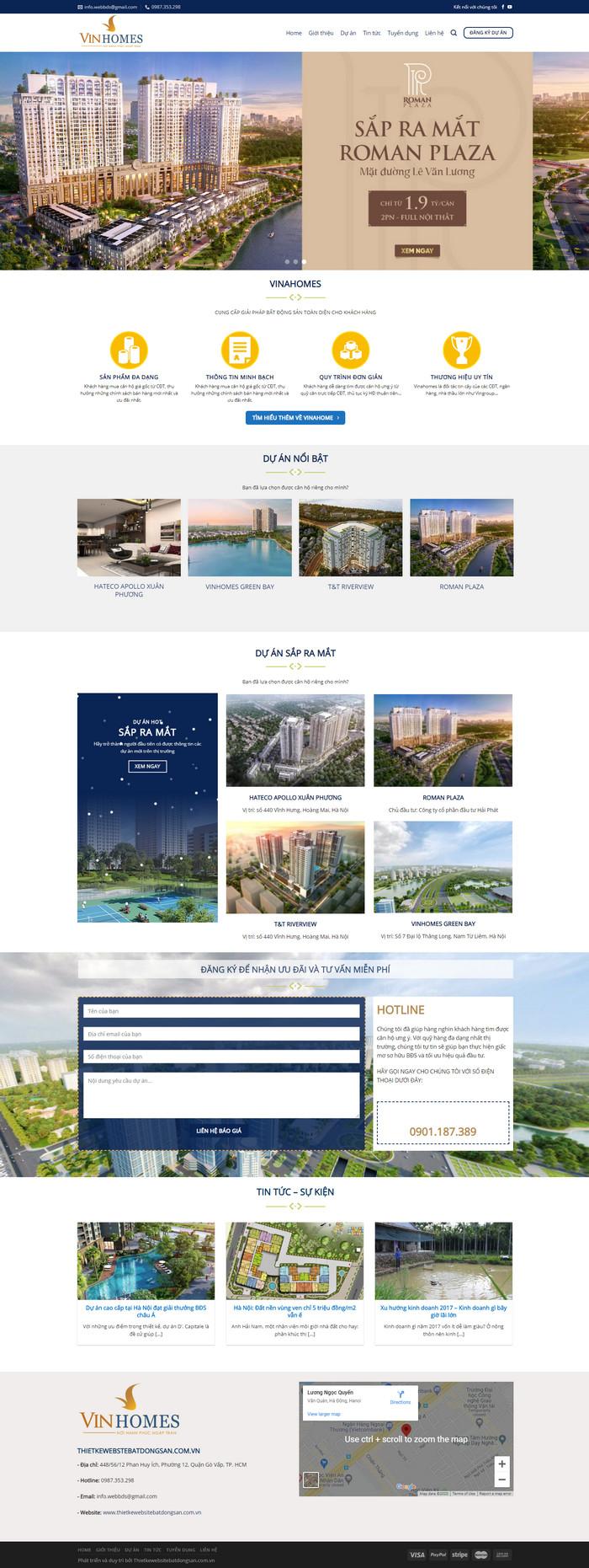 Theme bất động sản tổng hợp nhiều dự án bán chạy nhất M97