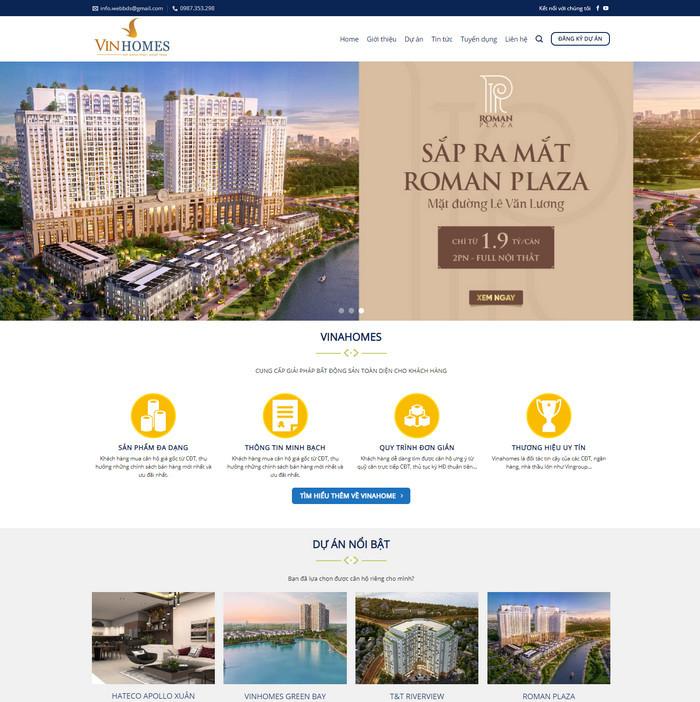Theme bất động sản tổng hợp nhiều dự án bán chạy nhất M97 hình 2