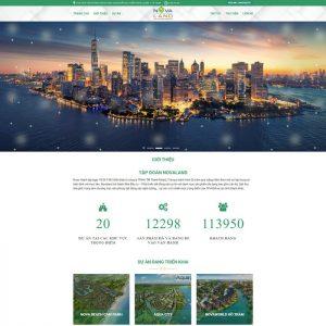 Theme wordpress bất động sản tổng hợp dự án tinh hoa M94