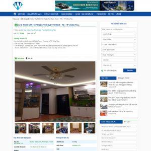 Theme wordpress rao vặt bất động sản