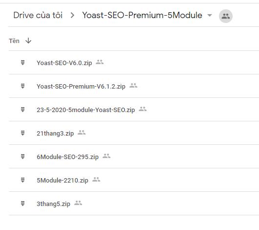 Full trọn bộ 5 Module Yoast SEO Premium - bản quyền chỉ 500k