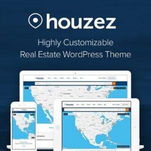 Houzez Real Estate - Theme wordpress bất động sản 200k
