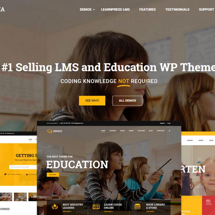Education Eduma - Theme wordpress giáo dục đào tạo khóa học