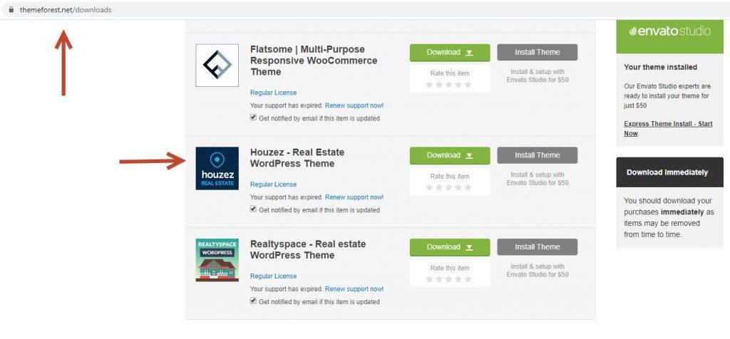 Houzez Real Estate - Theme wordpress bất động sản bán chạy TOP đầu 200k