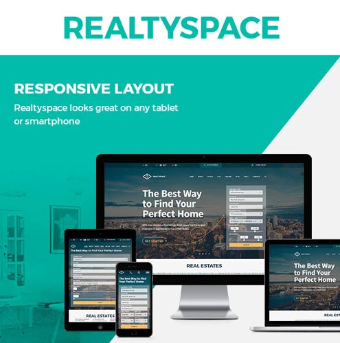 Realtyspace - Theme wordpress bất động sản 200k
