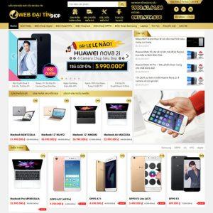 Theme Wordpress bán hàng Điện Máy, Điện Thoại Laptop Siêu đẹp M119