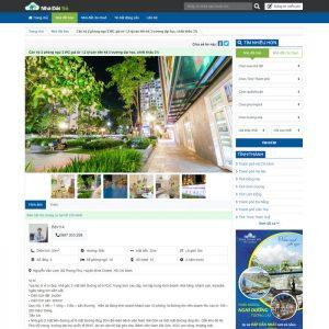 Theme Wordpress bất động sản đăng tin rao vặt nhà đất