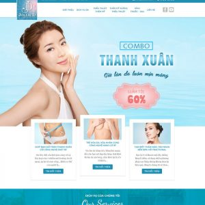 Theme Wordpress Spa thẩm mỹ M109