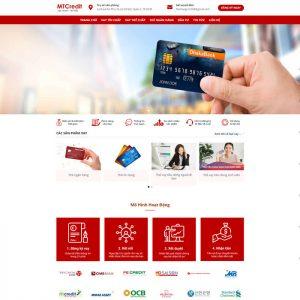 Theme wordpress dịch vụ vay vốn ngân hàng, thẻ tín dụng M112
