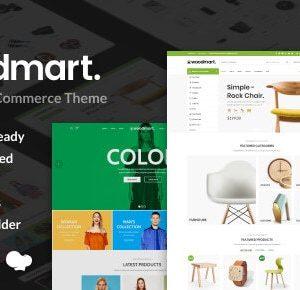Woodmart - Theme wordpress bán hàng đủ các thể loại