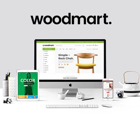 Woodmart - Theme wordpress bán hàng nên mua