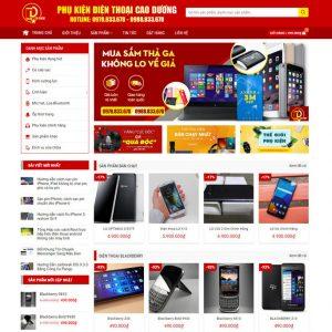 Theme Wordpress bán hàng Điện Thoại, Máy Tính, Phụ Kiện linh kiện