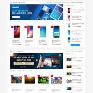Theme Wordpress bán hàng thương mại điện tử giống Tiki M137 hình 3