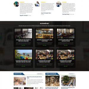 Theme Wordpress bán hàng Nội Thất Bàn Ghế M157 hình 3