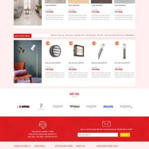 Theme Wordpress bán hàng Nội Thất, Thiết bị đồ gia dụng siêu đẹp M143 hình số 4