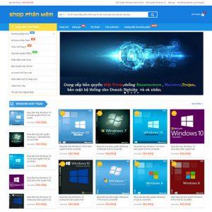 Theme Wordpress Bán Phần Mềm Ứng Dụng M141 hình 2