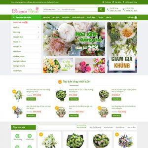 Theme Wordpress bán hàng Shop cửa hàng Hoa Tươi