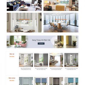 Theme Wordpress bán hàng Rèm Cửa Trang Trí M175 hình 3