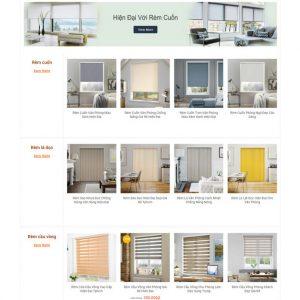 Theme Wordpress bán hàng Rèm Cửa Trang Trí M175 hình 4