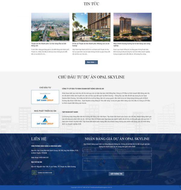 Theme Wordpress Landing Page Bất Động Sản đỉnh cao hình 5