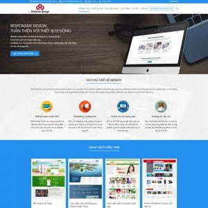 Theme Wordpress Công Ty Dịch Vụ Thiết Kế Web M176 hình 2