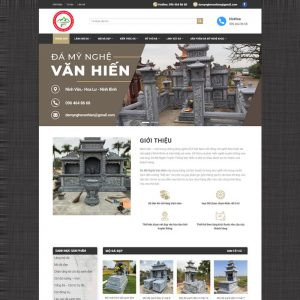Theme Wordpress Đá Mỹ Nghệ, Lăng Mộ Đá hình 2