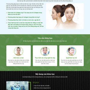 Theme WordPress trung tâm Đào Tạo Spa Thẩm Mỹ M154 hình 3