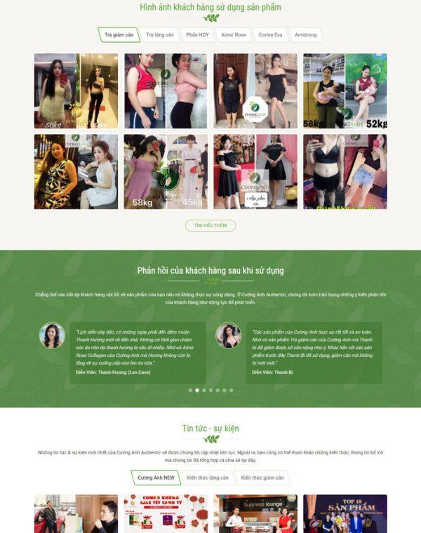 Theme Wordpress Thực Phẩm Chức Năng, Đông Y M171 hình 4