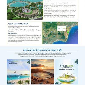 Theme Wordpress Landing Page bất động sản M184 hình 3