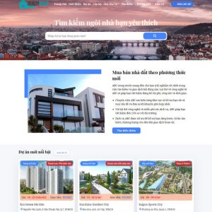 Theme Wordpress Bất Động Sản Cao Cấp M192 hình 2