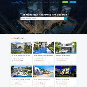 Theme Wordpress Cao Cấp Cho Thuê - Bán Bất Động Sản Mẫu 89 hình 2