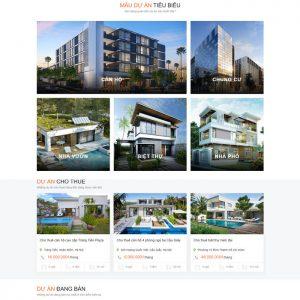 Theme Wordpress Cao Cấp Cho Thuê - Bán Bất Động Sản Mẫu 89 hình 3