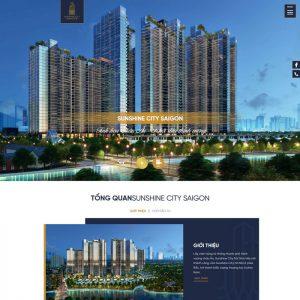 Theme Wordpress giới thiệu dự án bất động sản M193 hình 2