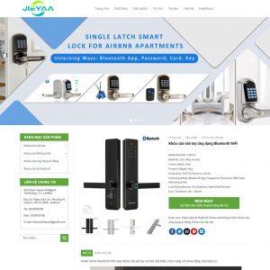 Theme Wordpress giới thiệu sản phẩm Khóa Điện Tử M194 hình 5