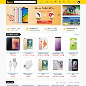 Theme Wordpress bán hàng điện thoại, máy tính giống Thegioididong M198 hình 2