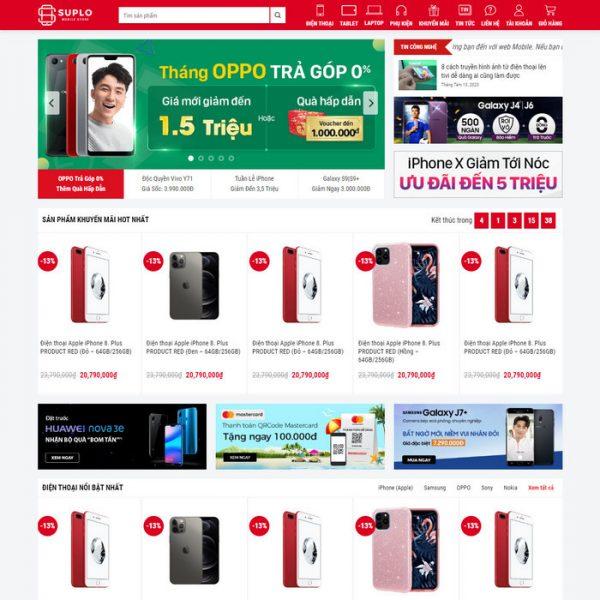 Theme Wordpress bán hàng điện thoại máy tính mẫu số 4 hình số 2