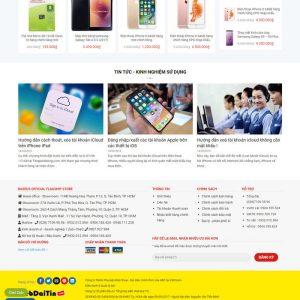 Theme Wordpress bán hàng phụ kiện điện thoại M206 hình 5