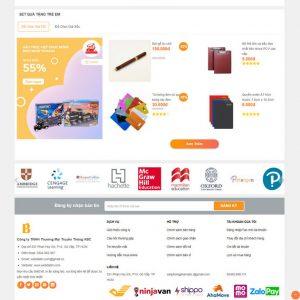 Theme Wordpress bán hàng Văn phòng phẩm M208 hình 6